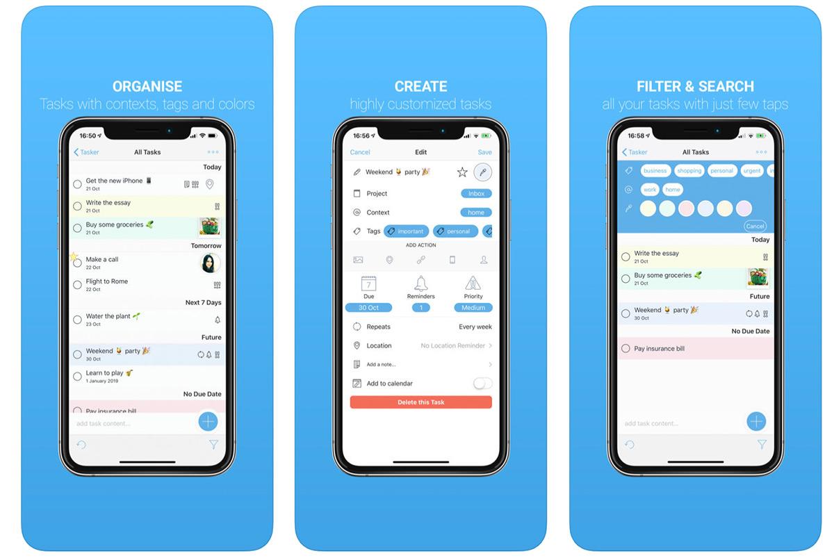 Tasker To Do List App