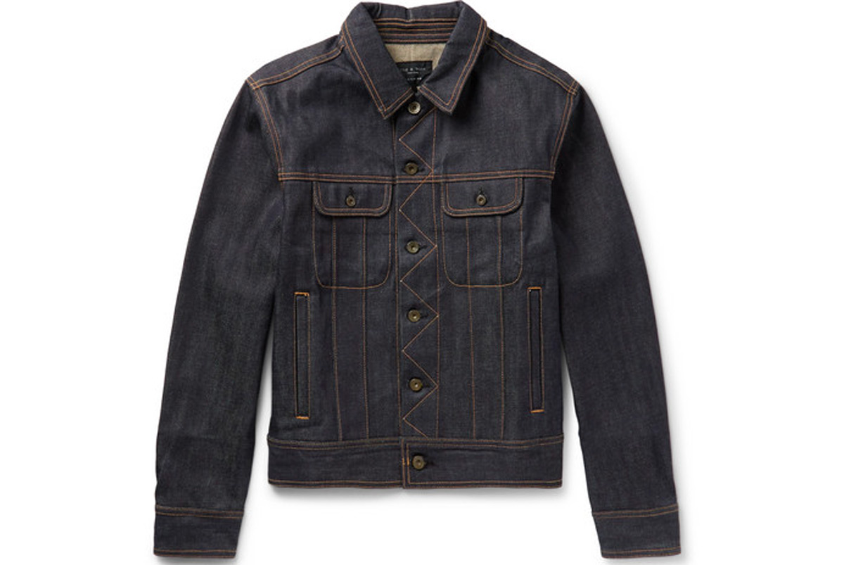 Rag Bone Selvedge Denim Jacket