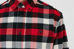Woolrich Men Regular Light Flannel Shirt 1