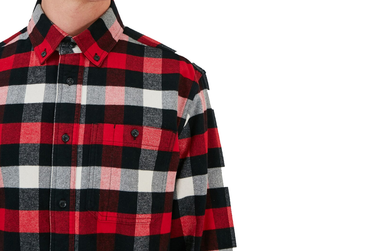 Woolrich Reg Light Flannel Shirt