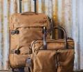 Filson Nylon Dryden Rolling 2 Wheel Carry On Bag Whiskey