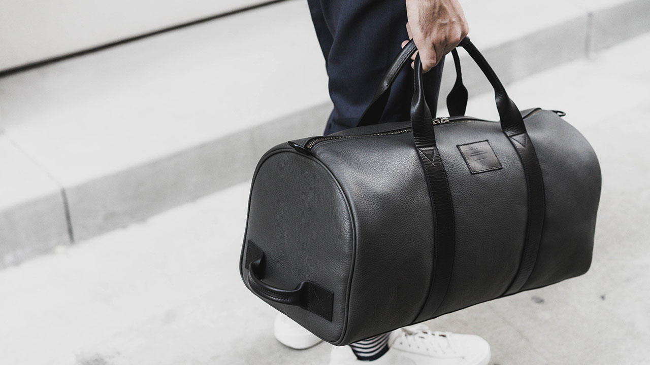Killspencer Black Leather Duffle 1