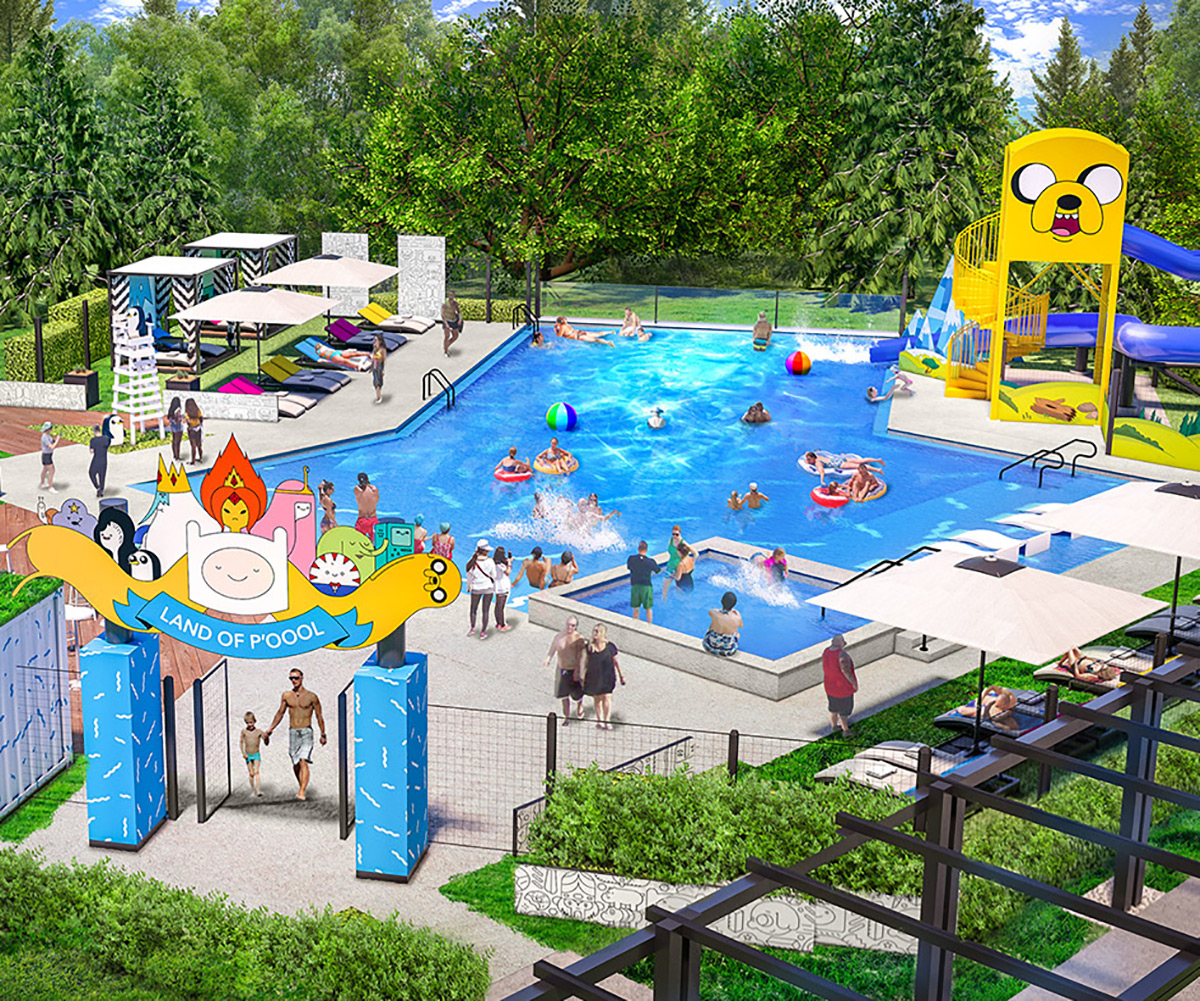 Cartoon Network Hotel Outdoor Pool