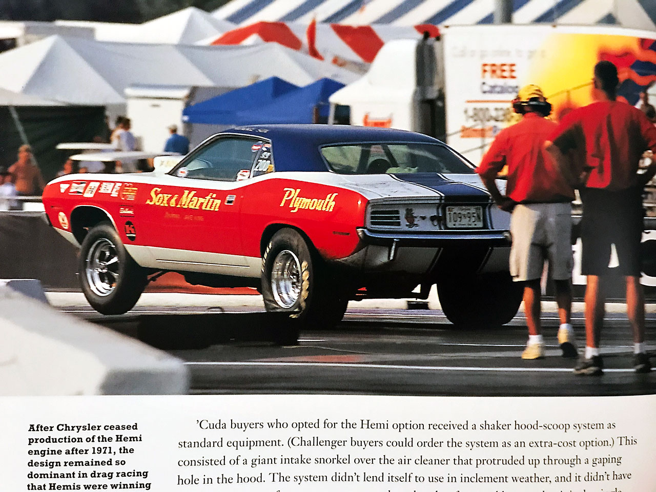 Hemi Muscle 70 Years Racing Book