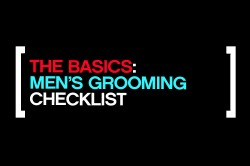 Mens Grooming Checklist