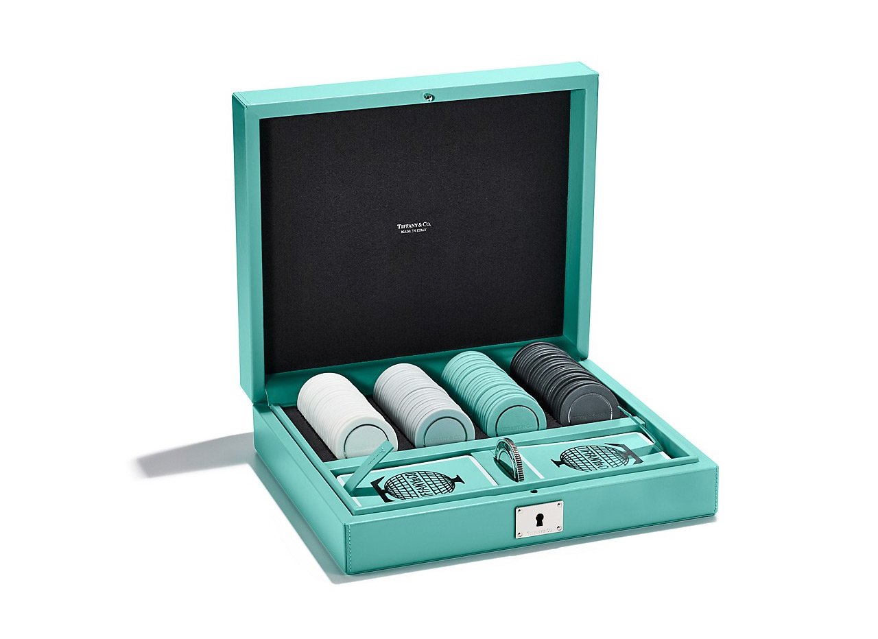 Tiffany Co Poker Set