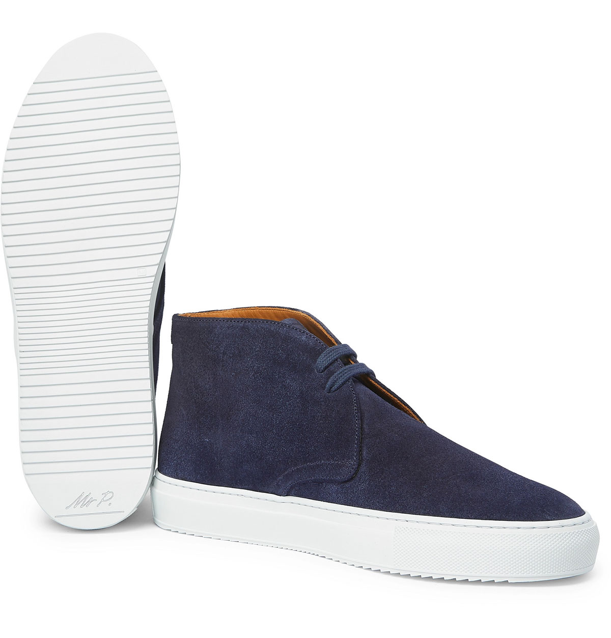 Mr P Larry Suede Desert Boots