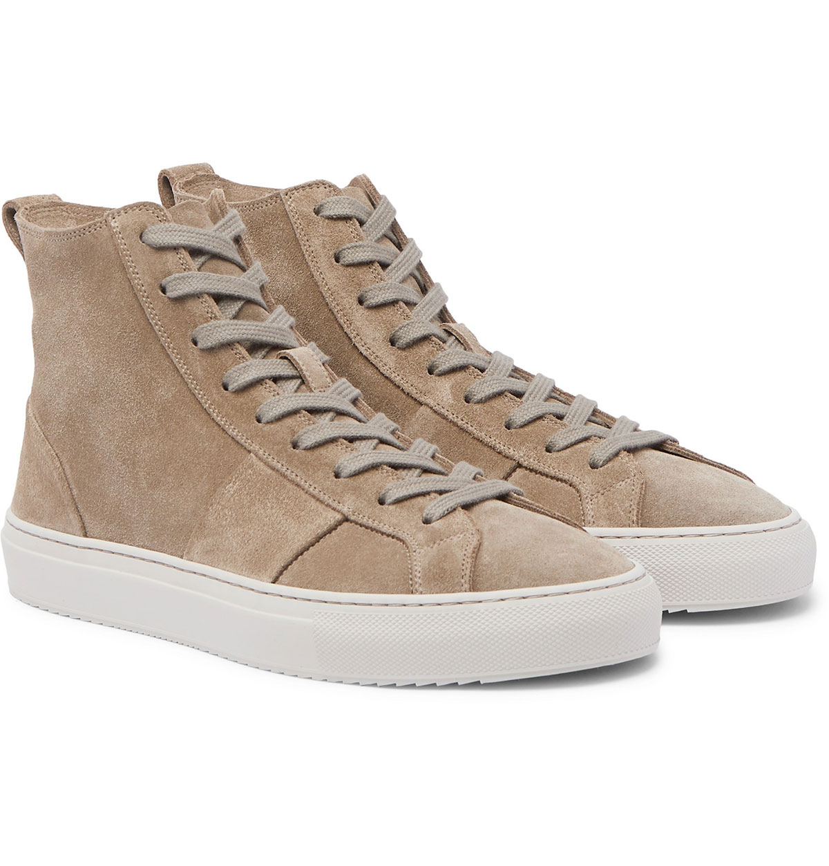 Mr P Larry Suede High Top Sneakers
