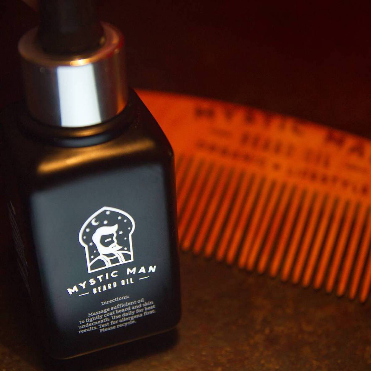 Mystic Man Beard Oil 1