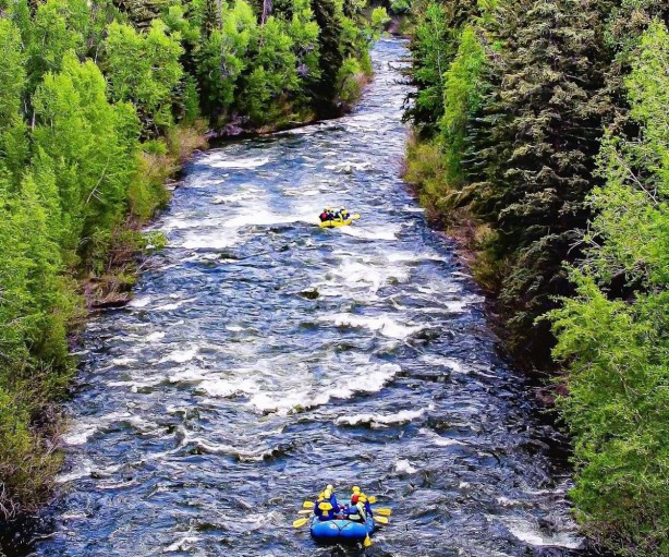 Whitewater Rafter Colorado Avarafting